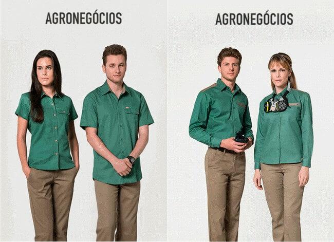 modelos de uniformes